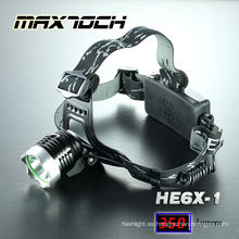 Maxtoch HE6X-1 Cree T6 linterna recargable