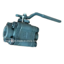 800lb 1500lb Forged Steel A105 Thread End NPT Ball Valve