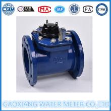 6 '' Inch Woltman Medidor de agua de tipo seco con registro grande