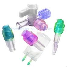 Conector médico plástico de alta precisão