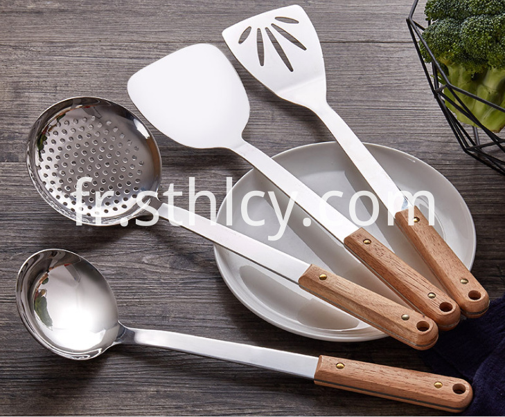 stainless steel cooking spatula