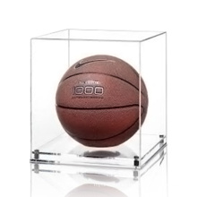 Caja de exhibición de plexiglás transparente para baloncesto