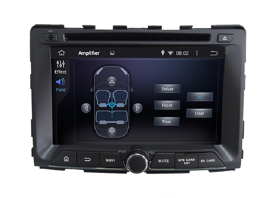 7.1 System Car DVD Player For SsangYong Rodius 2014