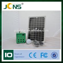 Nuevo sistema de iluminación solar solar LED kit kit de diseño con USB