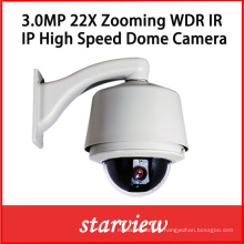 3.0MP 22X IP WDR CCTV Security High Speed Dome Camera