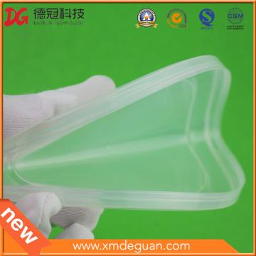 Tapa suave plástica translúcida del PE para la lata de metal