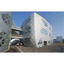 4mm 0.3mm Exterior PVDF PE 3D Building Wall Cladding Construction Decoration Materials ACP Acm Aluminium Composite Panel