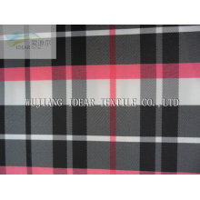 100% Poly Yarn Dyed checked Fabric For T-shirts