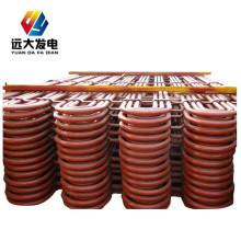 Peças de superaquecedores e reaquecedores de caldeiras