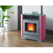Best-Selling Indoor Using Wood Pellet Stove with Remote Control