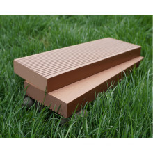 High Quality Engineered WPC Composite Decking, Solid Waterproof WPC Decking