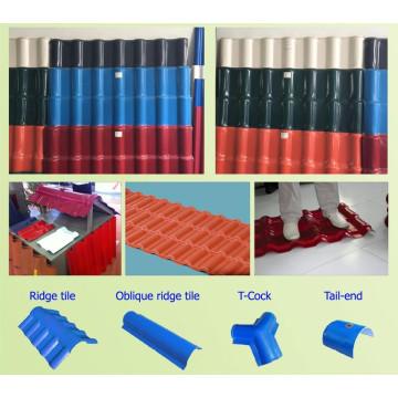 PVC+ASA Glazed Tile Extrusion Machine