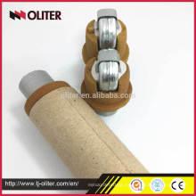 Muestreador de acero fundido rápido desechable para análisis químico