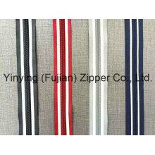 5# Reflective Tape Nylon Zipper Long Chain