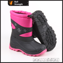 Women Winter Boots with PU Upper and PVC Sole (SN5231)