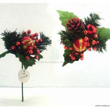 Plastic Decorative Fancy Ensembles d'ornement de Noël Trucs de Noël