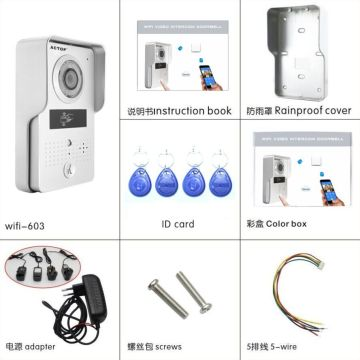 Ring Home Security Doorbell con aplicación