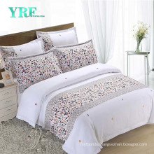 Yrf Factory Direct Sale Cotton Printing Hotel Linen Sets Bedding