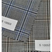 Anti-static heißer Verkauf Kammgarn 70% Wolle 30% Polyester Plaid Wolle Anzug Stoff
