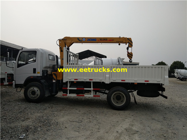 SINOTRUK Vehicle Mounted Cranes
