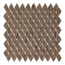 Rhombus Kitchen Mosaic Tile Full Body Recycled Glass Mosaic Tiles