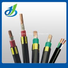 Cabo elétrico do poder retardador da chama de 0.6 / 1KV Cu / XLPE / PVC, cabo distribuidor de corrente do IEC