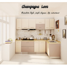 2016 304 Stainless Steel Kitchen Cabinets