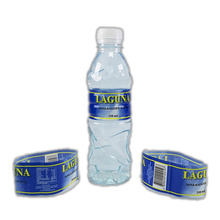 Factory Printable PVC Heat Shrink Wrap Plastic Label For Mineral Water Bottle