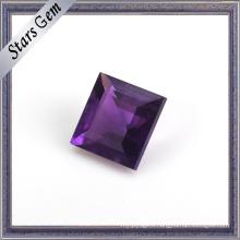 Deep Violet Brilliant Cut Natural Amethyst Gemstone Bead