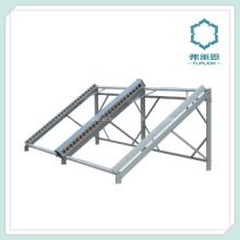 Section en aluminium pour toit monté des panneaux solaires