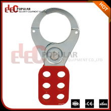 Elecpopular Cheap Items To Sell Safety 6 Padlock Holes Steel Hasp Lock Safety Locker Hasp