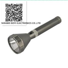 Linterna de aluminio LED de alta luminosidad recargable