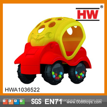 New Design Free wheel car rubber car mini toy car