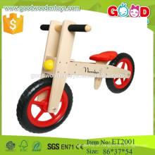 Material de contraplacado 12inch bicicleta de equilíbrio de madeira para crianças