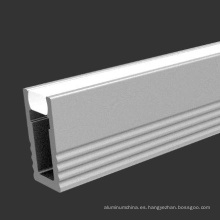 Perfil LED de aluminio para iluminación de canal LED