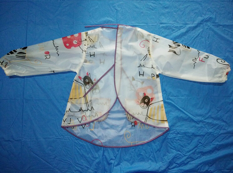 baby apron with sleeves