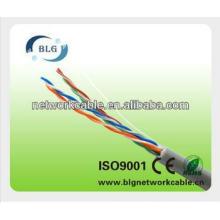 Cable de cobre 24AWG de cobre desnudo sólido Cable UTP Cat5e