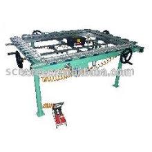 mechanical mesh stretching machine