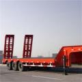 3 eixos Semi-reboque baixo de 60 toneladas