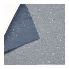 Fabric Custom High-quality Breathable and Waterproof Microfiber 100% Polyester OEKO-TEX STANDARD 100 Knitted Navy