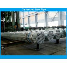 Tuyau d'acier standard galvanisé avec une épaisseur de 1,5 mm