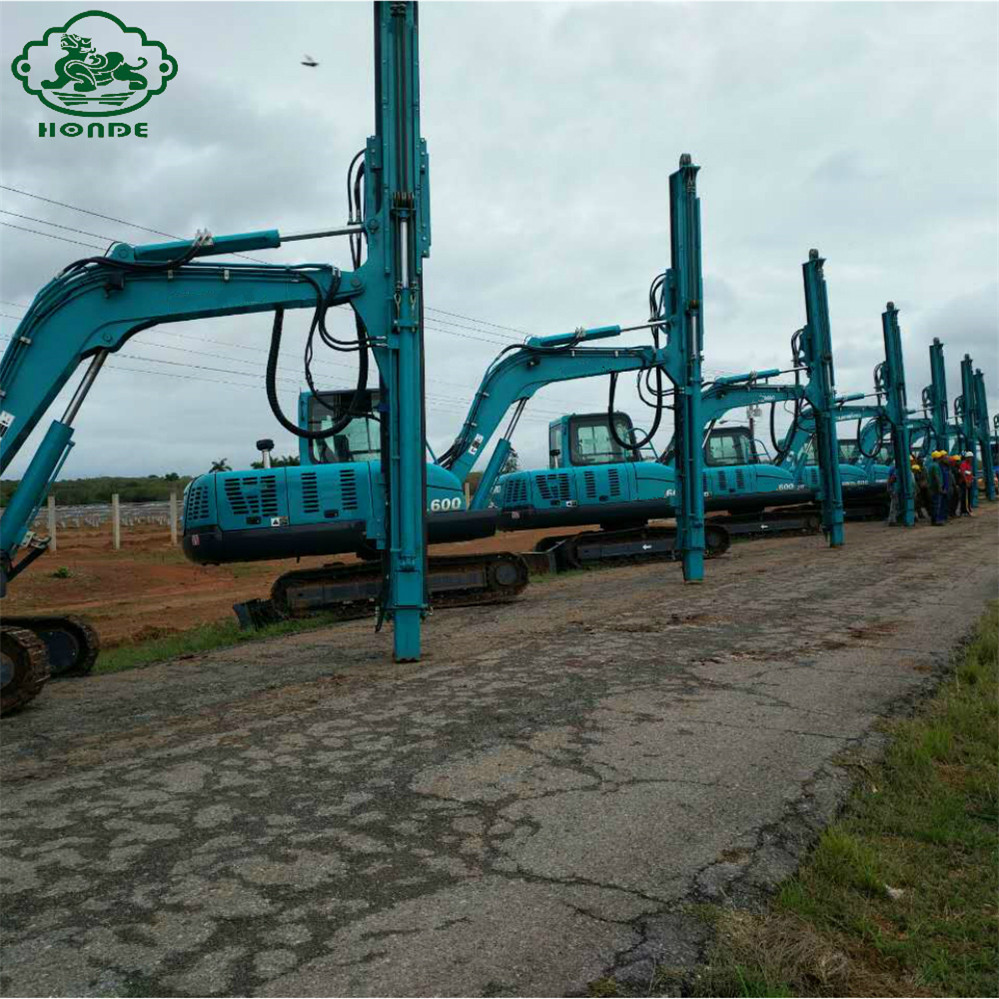 Hydraulic Ground Pile Driver