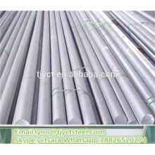 Preço redondo da haste perfurada do alumínio da barra da liga de alumínio 6063