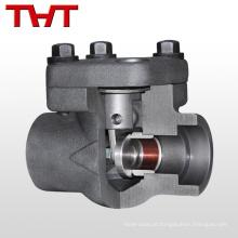 Válvula de retenção de óleo combustível soldada de aço forjado de alta temperatura