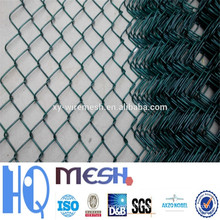 Clôture de liaison en chaîne galvanisée (maille en fil de diamant), clôture de liaison en chaîne recouverte de PVC