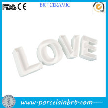 Декорирование дома любовь буквы новизна подарок керамическая плита