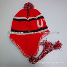 100% Acrylic Knitted hat EMB logo