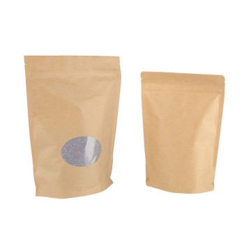 Stand Up Food Pouch 250g com Ziplock
