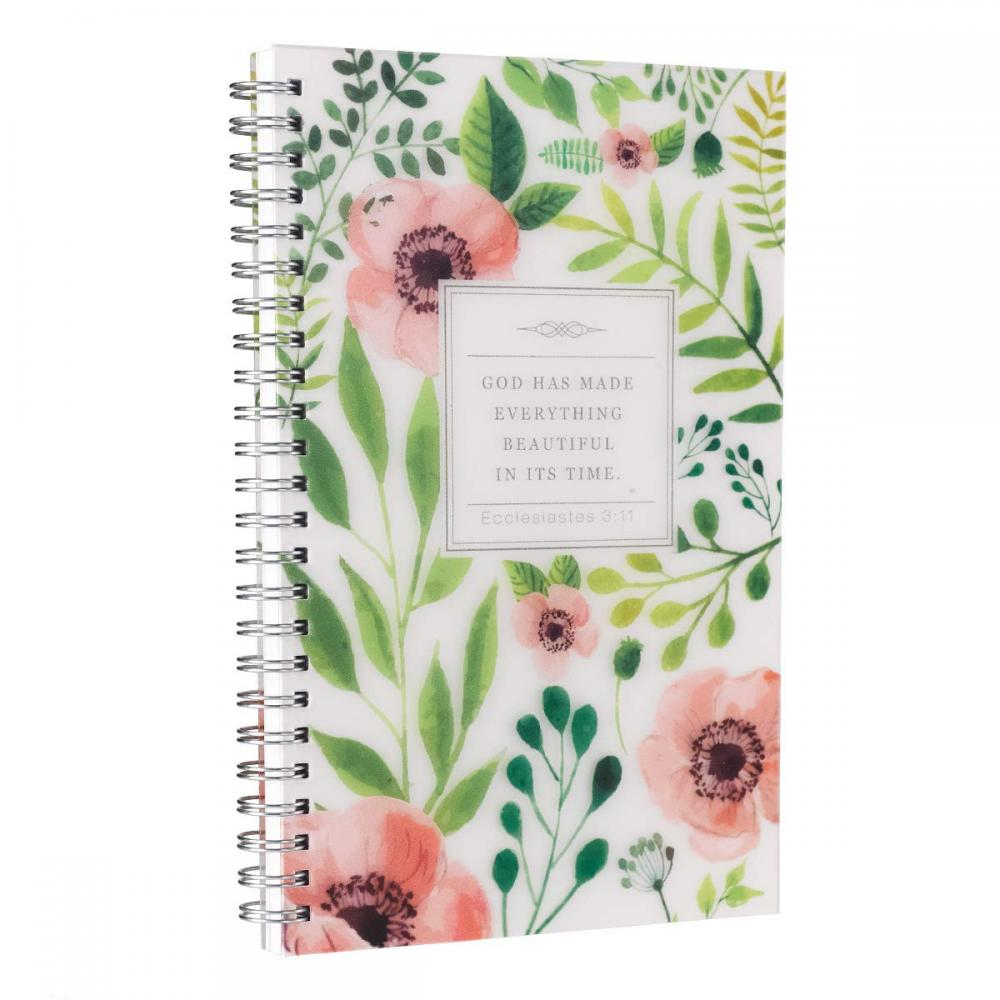 Flower Spiral Notebook 1