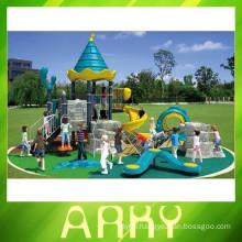 2015 attractive outdoor city playground equipment